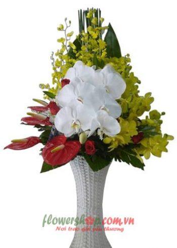 hoa mừng sinh nhật chồng