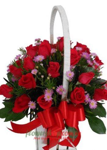 những lẵng hoa mừng sinh nhật