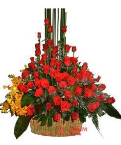 hoa sinh nhật tặng bạn thân