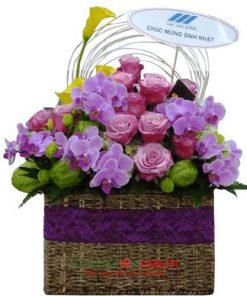 hoa cho sinh nhật