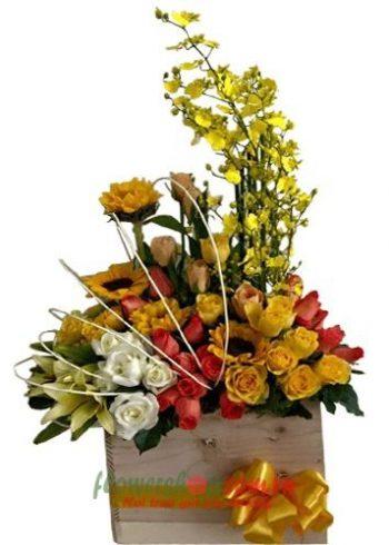 hoa, quà sinh nhật