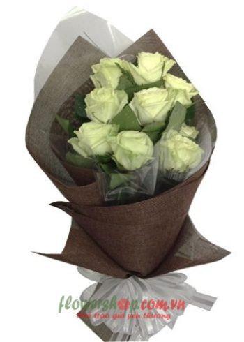 những bó hoa đẹp nhất ngày 20-11