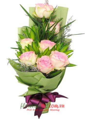 bó hoa đẹp ngày 20-11
