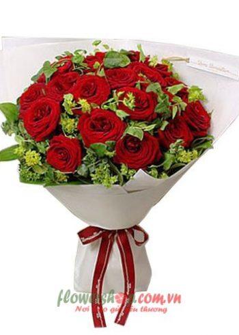 những bó hoa đẹp ngày 20-11