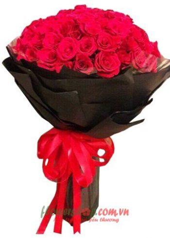 những bó hoa đẹp cho ngày 20-11