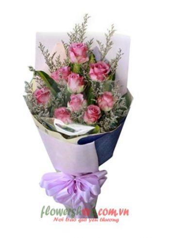 những bó hoa