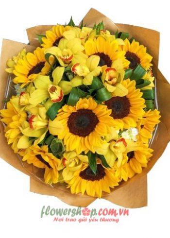 hoa đẹp cho ngày 20-11