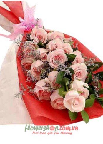 những bó hoa hồng tuyệt đẹp