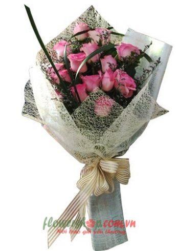 hoa hồng ngày 20-11