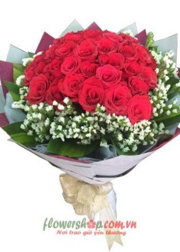 hoa bó đẹp hà nội