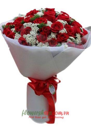 những bó hoa đẹp tặng sinh nhật
