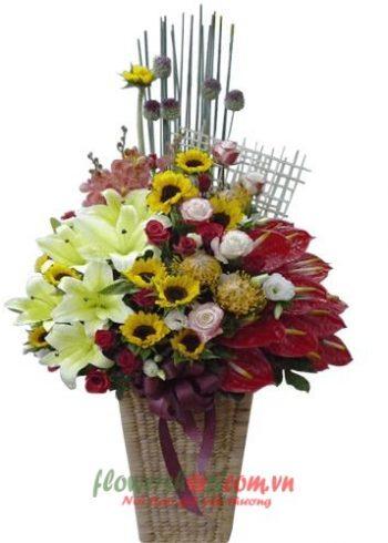 Liên Hệ đặt hoa tươi online Bến Tre Hotline: 0937878738