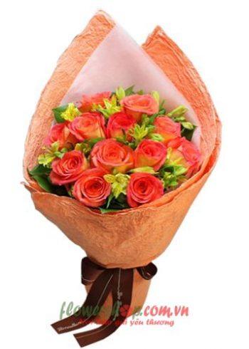 những bó hoa tặng sinh nhật