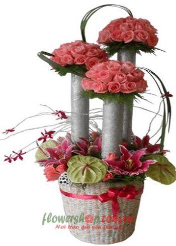 hoa tặng ngày 20-11