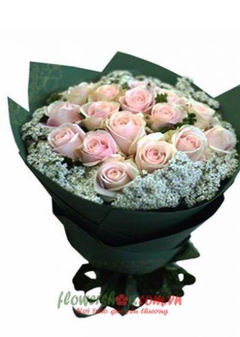 hoa hồng bó đẹp