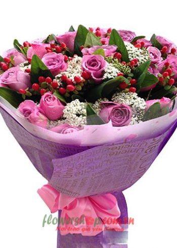những bó hoa hồng đẹp nhất ngày 8-3