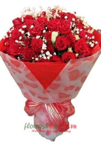 những bó hoa đẹp nhất ngày 8-3