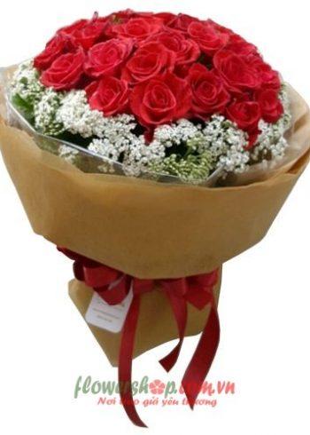 những hoa hồng đẹp tặng sinh nhật