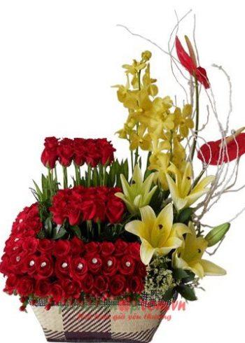 hoa đẹp tặng 20-10