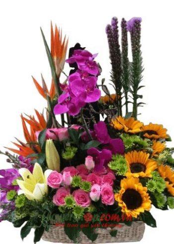 Liên hệ đặt hoa tươi online Bình DươngHotline: 0937878738