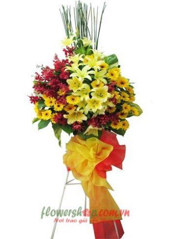 đặt hoa chúc mừng khai trương tại Cà Mau | HKT 9635