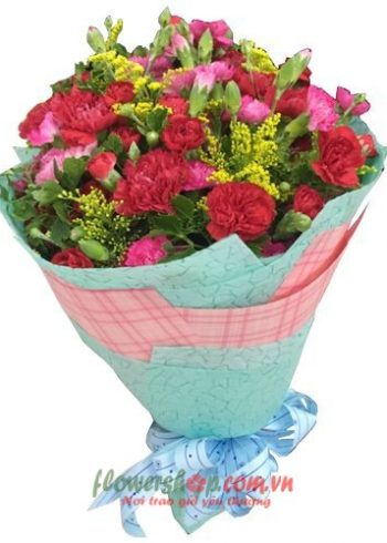 bó hoa đẹp nhất ngày 8-3