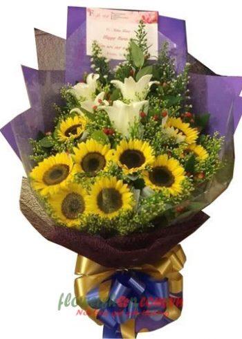 bó hoa đẹp cho ngày 8-3