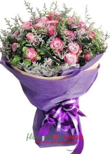 những bó hoa đẹp cho ngày 8-3