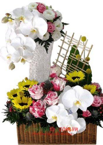 hoa tặng thầy cô nhân ngày 20-11
