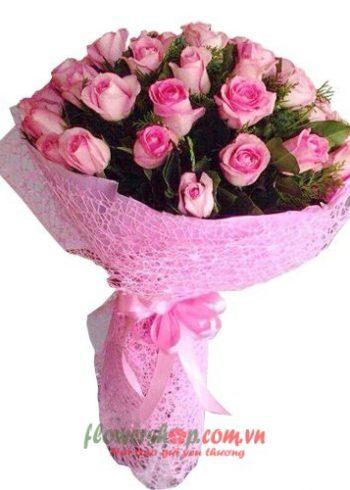 những bó hoa đẹp tặng ngày 8-3