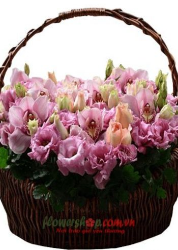 lẵng hoa đẹp 8-3