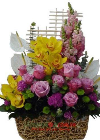 Liên hệ đặt hoa tươi online Tây Ninh Hotline: 0937878738