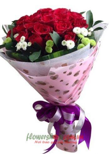 hoa đẹp tặng 8-3