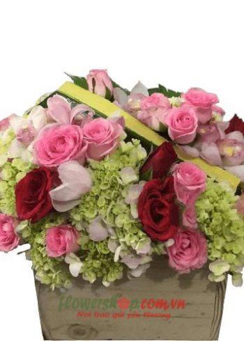 giỏ hoa 14-2