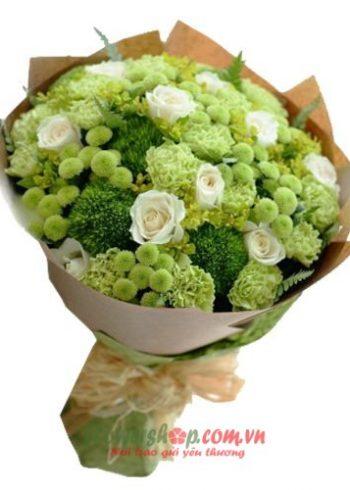 bó hoa đẹp ngày valentine