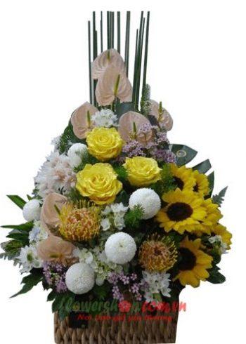 lẵng hoa đẹp 20-11