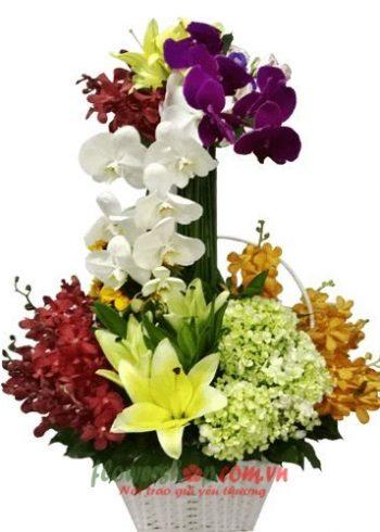 Đặt hoa tươi online quận 9