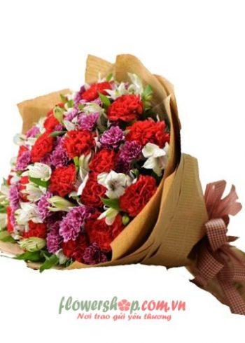 những bó hoa hồng đẹp 14-2