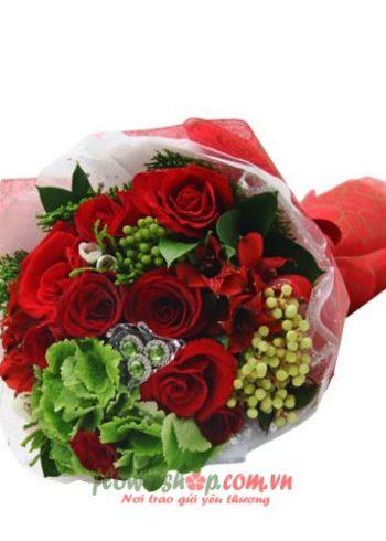 những bó hoa đẹp ngày valentine