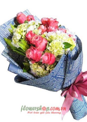 những bó hoa đẹp ngày lễ tình yêu