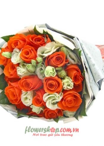 bó hoa hồng ngày valentine