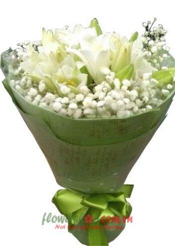 những bó hoa đẹp cho ngày valentine