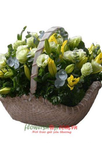 giỏ hoa cho 14-2