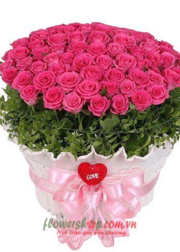 mẫu hoa đẹp ngày 20-11