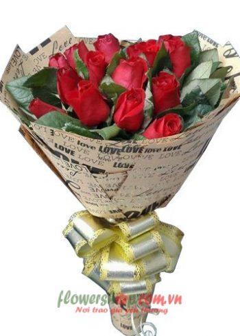 những bó hoa tặng sinh nhật đẹp