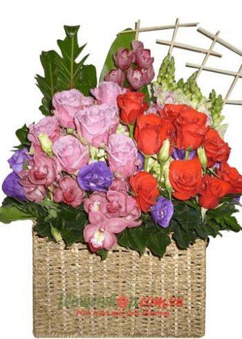 hoa cho valentine