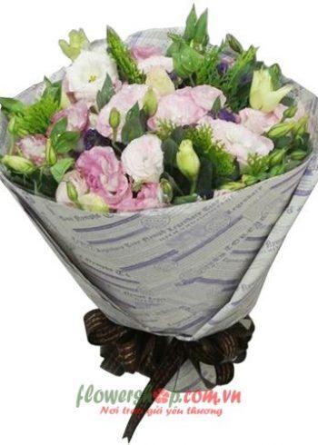 bó hoa đẹp 20-10
