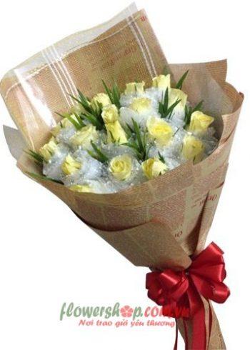 những bó hoa đẹp cho 20-10