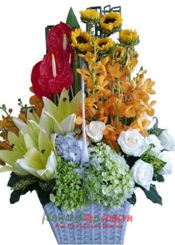 Liên hệ đặt hoa tươi online Sóc Trăng Hotline: 0937878738