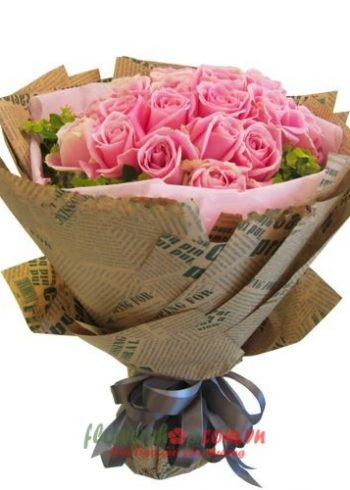 bó hoa giấy